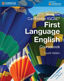 Cambridge IGCSE First Language English Coursebook with Free Digital Content