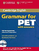 Cambridge Grammar for PET. Book with Answers and Audio CD