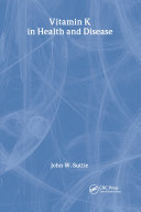 Vitamin K in Health and Disease