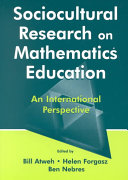 Sociocultural Research On Mathematics Education book