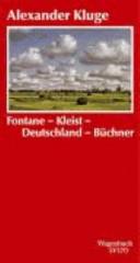 Fontane, Kleist, Deutschland, Büchner