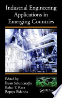 Industrial Engineering Applications In Emerging Countries book