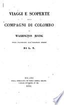 Viaggi e scoperte dei compagni di Colombo