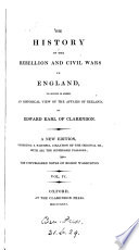 The history of the rebellion and civil wars in England to which is added an historical view of the affairs of Ireland   on large paper  cm 24