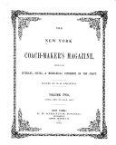 download ebook the new york coach-maker\'s magazine pdf epub