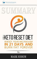 Summary The Keto Reset Diet
