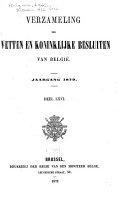 Recueil des lois, décrets, ordonnances et règlements