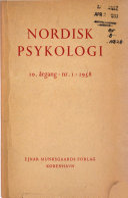 Nordisk psykologi