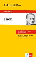 Lektürehilfen Joseph Roth, Hiob