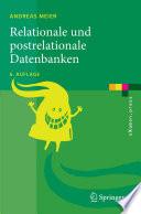 Relationale und postrelationale Datenbanken