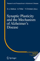 Synaptic Plasticity and the Mechanism of Alzheimer s Disease
