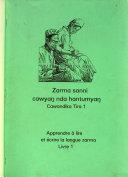 Apprendre a lire et ecrire la langue zarma