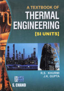 A Textbook Of Thermal Engineering   Mechanical Technology