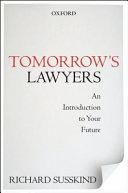 Tomorrow s Lawyers