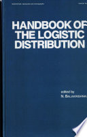 Handbook of the Logistic Distribution