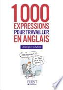 Petit Livre - 1000 expressions pour travailler en anglais