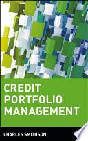 Credit Portfolio Management Book PDF