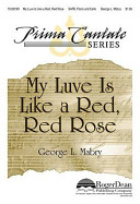My Luve Is Like a Red  Red Rose