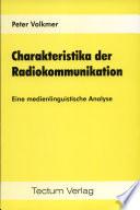 Charakteristika der Radiokommunikation