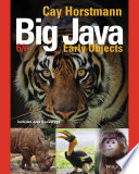 Big Java  Early Objects  6th Edition