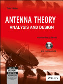 ANTENNA THEORY: ANALYSIS AND DESIGN, 3RD ED (With CD )