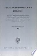 Literaturwissenschaftliches Jahrbuch. N.F., 33.1992