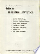 Guide to Industrial Statistics