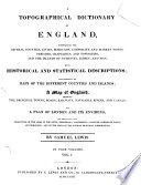 A Topographical Dictionary of England