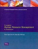European Human Resource Management in Transition