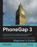 PhoneGap 3 Beginner's Guide
