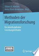 Methoden der Migrationsforschung