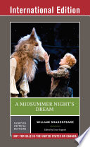 A Midsummer Night s Dream  International Student Edition   Norton Critical Editions
