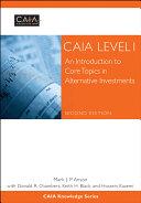 CAIA Level I