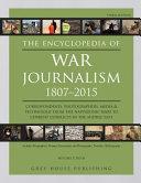 Encyclopedia of War Journalism 1807-2015