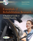 Essentials of Rehabilitation Research