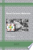 Novel Ceramic Materials book