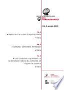 Revue Anthropologie des connaissances, Vol. 3