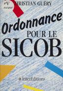 Ordonnance pour le S.I.C.O.B.