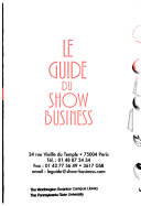 Guide du show business
