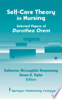 Self Care Theory In Nursing