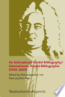 An International Handel Bibliography