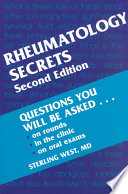 Rheumatology Secrets : tables, questions and answers, pearls, tips,...