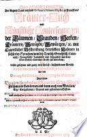 Herrn Adami Loniceri, Der Artzney D. und weyland Ordinarii Primarii Physici zu Franckfurt, Kräuter-Buch und Künstliche Conterfeyungen der Bäumen, Stauden, Hecken, Kräutern, Geträyde, Gewürtzen, [et]c