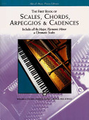 Scales  Chords  Arpeggios and Cadences  First Book