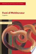Fonti di Weltliteratur. Ungheria