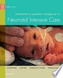 Merenstein   Gardner s Handbook of Neonatal Intensive Care