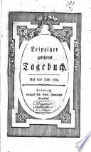 Leipziger gelehrtes Tagebuch