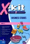 X kit FET Grade 12 Business Studies