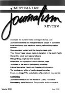 Australian Journalism Review