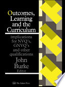 Outcomes  Learning And The Curriculum